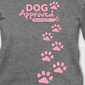 RescueDogs101 Dog Approved - Women's Wideneck Sweatshirt
