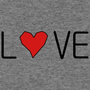 he_art_love - Women's Wideneck Sweatshirt