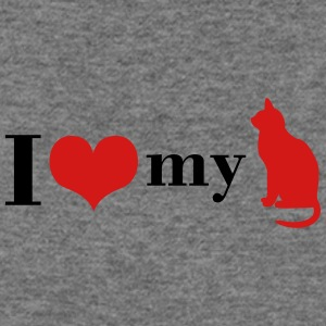 I love my Cat - Women's Wideneck Sweatshirt