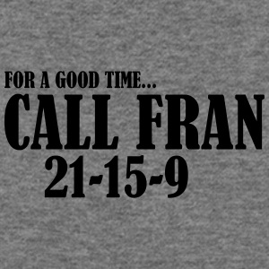 For a Good Time call Fran - Women's Wideneck Sweatshirt