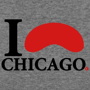 I Love Chicago - Women's Wideneck Sweatshirt