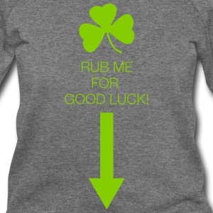 Rub Me for Good Luck - Women's Wideneck Sweatshirt