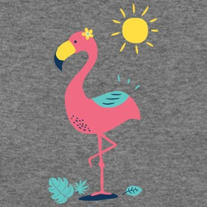 Khodeco design flamingo - Women's Wideneck Sweatshirt
