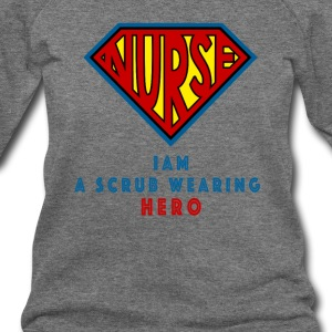 the super nurse - Women's Wideneck Sweatshirt