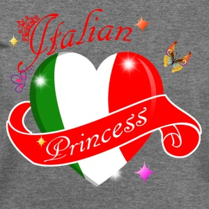 Italian Princess designs - Women's Wideneck Sweatshirt