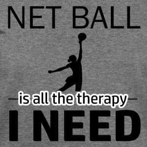 Net Ball is my therapy - Women's Wideneck Sweatshirt