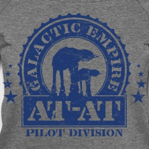 Galactic Empire AT-AT Pilot Division - Women's Wideneck Sweatshirt