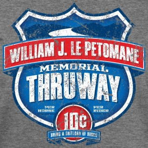 William J LePetomane Memorial Thruway - Women's Wideneck Sweatshirt