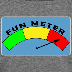 Fun Meter - Women's Wideneck Sweatshirt