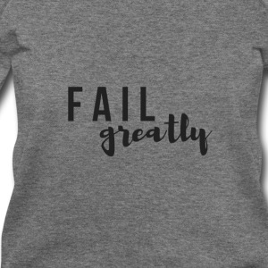 FAIL_greatly_BLACK - Women's Wideneck Sweatshirt