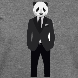 Panda In A Suit - Women's Wideneck Sweatshirt