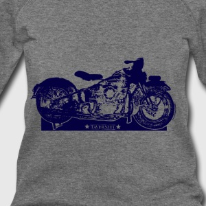 Taverniti motocycle - Women's Wideneck Sweatshirt