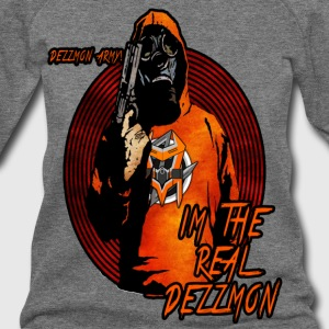 Friendly Dezzmon Army Tshirt - Women's Wideneck Sweatshirt