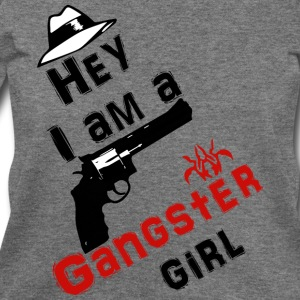 Ganster girl - Women's Wideneck Sweatshirt