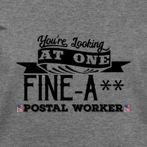 Fine-A** Postal Worker! - Women's Wideneck Sweatshirt
