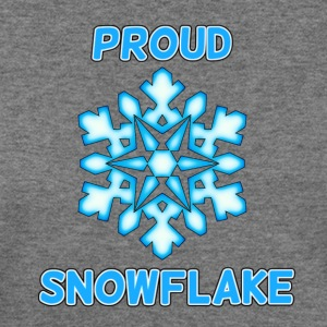 Proud Snowflake - Women's Wideneck Sweatshirt