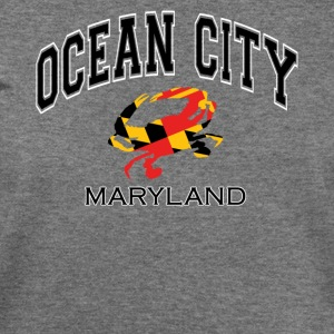 Ocean City Maryland Crab - Women's Wideneck Sweatshirt