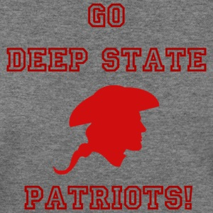 Go Deep State Patriots! - Women's Wideneck Sweatshirt