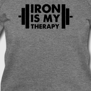 Iron is My Therapy - Women's Wideneck Sweatshirt