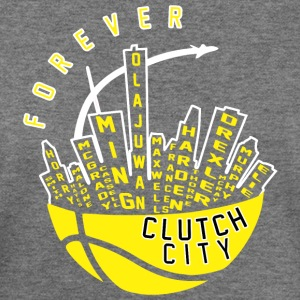 Clutch City Forever - Women's Wideneck Sweatshirt