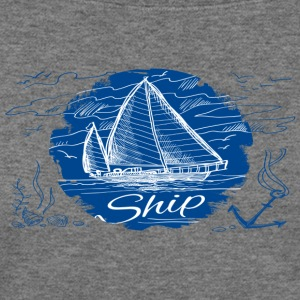 ship shirt - Women's Wideneck Sweatshirt