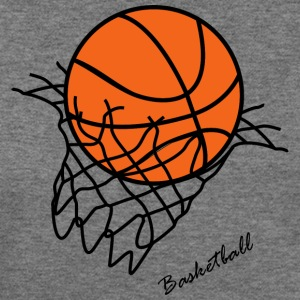 Basket ball - Women's Wideneck Sweatshirt