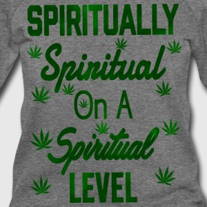 Spiritually Spiritual on a Spiritual Level - Women's Wideneck Sweatshirt
