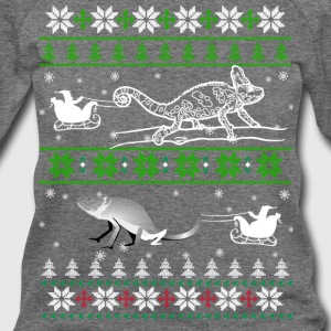 Reptiles Christmas T shirt - Women's Wideneck Sweatshirt