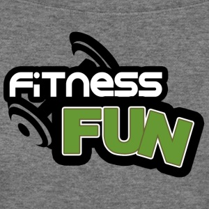 Ffitness fun - Women's Wideneck Sweatshirt