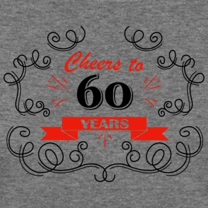 Cheers to 60 years - Women's Wideneck Sweatshirt