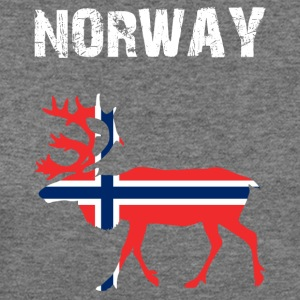 Nation-Design Norway Reindeer - Women's Wideneck Sweatshirt