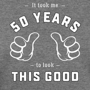 Funny 50th Birthday Gift: It took me 50 years - Women's Wideneck Sweatshirt
