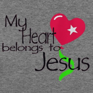 My Heart Belongs To Jesus - Women's Wideneck Sweatshirt