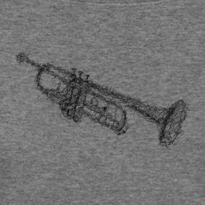 Trumpet scribble - Women's Wideneck Sweatshirt