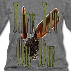 live_lit_or_die_4 - Women's Wideneck Sweatshirt