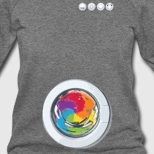 Rainbow Laundry - Women's Wideneck Sweatshirt