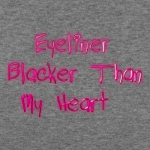 Eyeliner Blacker - Women's Wideneck Sweatshirt