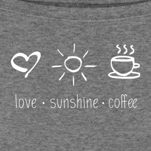 Love Sunshine Coffee - Women's Wideneck Sweatshirt