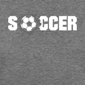 Soccer football Design Products - Women's Wideneck Sweatshirt