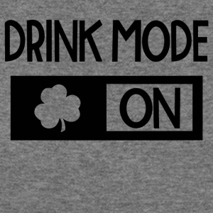 Drink Mode On - Women's Wideneck Sweatshirt