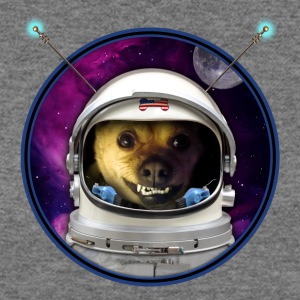Rocky the Dog, Space Astronaut - Women's Wideneck Sweatshirt