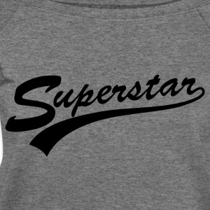 SUPERSTAR - Women's Wideneck Sweatshirt