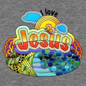 I Love Jesus - Women's Wideneck Sweatshirt