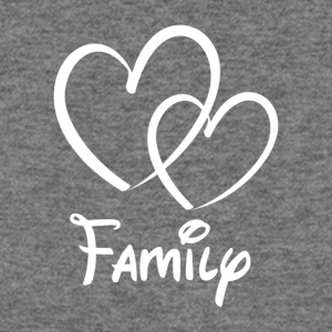 Heart Family - Women's Wideneck Sweatshirt