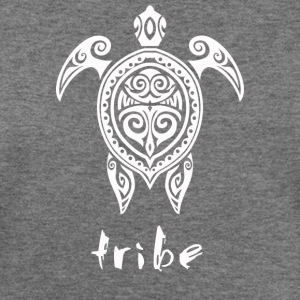 Tribe (Hawaii #2 in White) - Women's Wideneck Sweatshirt