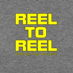 Reel To Reel yellow color - Women's Wideneck Sweatshirt