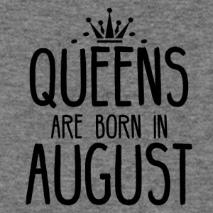 Queens are born in August - Women's Wideneck Sweatshirt