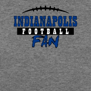Indianapolis football fan - Women's Wideneck Sweatshirt