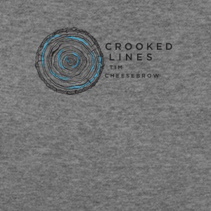 Crooked Lines Album Cover Art - Women's Wideneck Sweatshirt