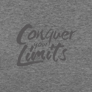 Dare you to (Conquer your limits) - Women's Wideneck Sweatshirt